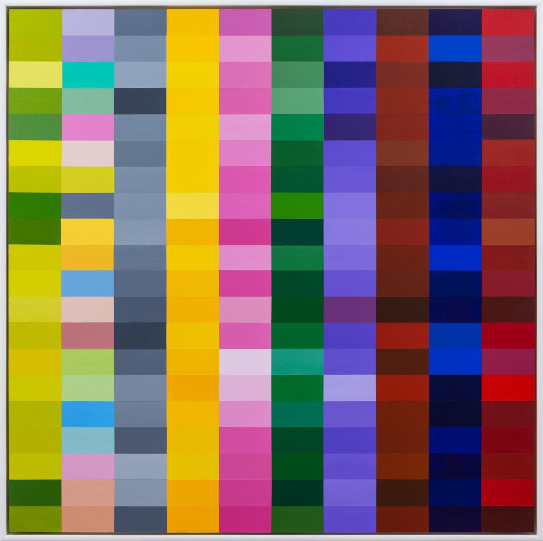 Claudia ABRAHAMS (b.1973) - 200 SHADES OF COLOUR