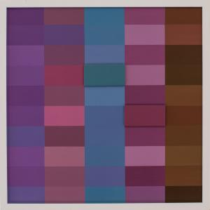 Claudia ABRAHAMS (b.1973) - 50 SHADES OF COLOUR II