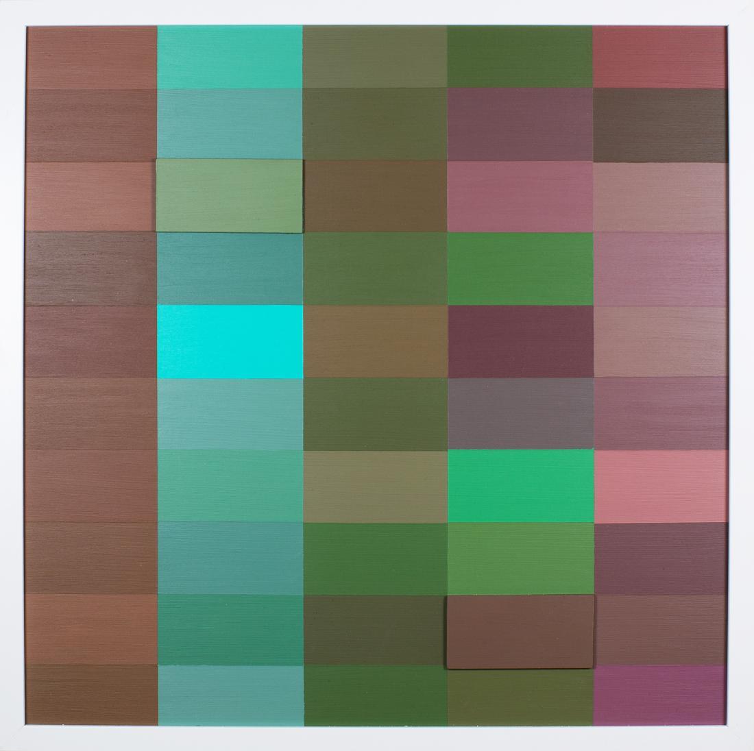 Claudia ABRAHAMS (b.1973) - 50 SHADES OF Colour III