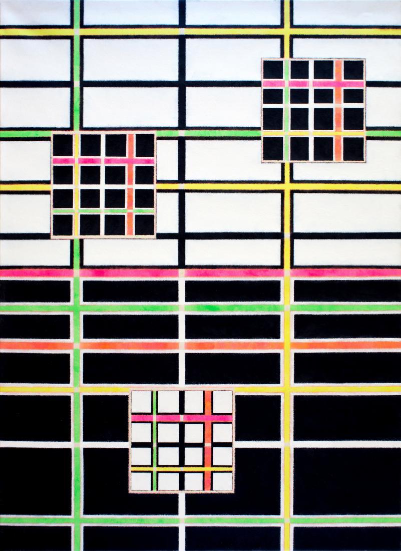 Jon PLAPP (b.1938; d.2006) - ABSOLUTE LIGHTS