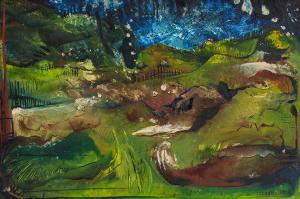 Matthew SIMMONS (b.1975) - BENDIGO LANDSCAPE