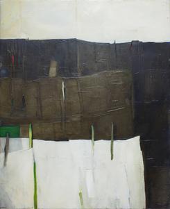 Inga K. SERAFIN (b.1966) - BLACK SPUR