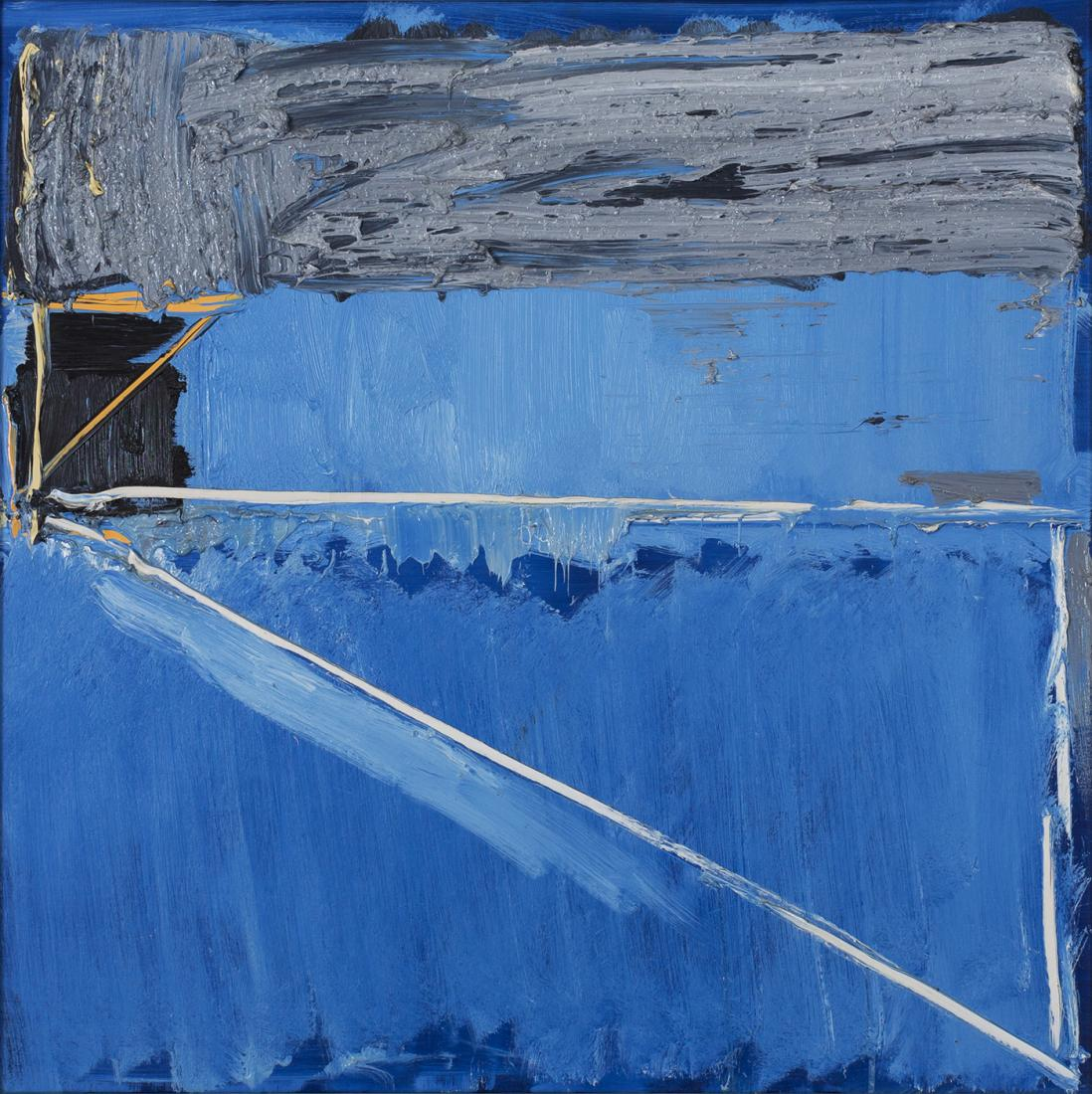 John FIRTH-SMITH (b.1943) - BLUE SENARY No.3