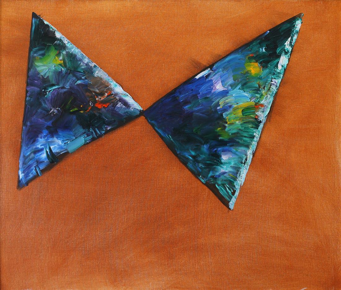 Charles BLACKMAN O.B.E. (b.1928) - BUTTERFLY (Blue)