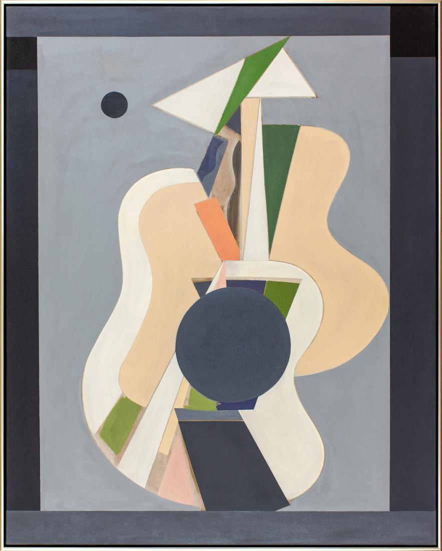 Robert JACKS (b.1943; d.2014) - CELLO WOMAN