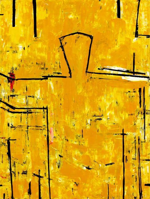 Graham FRANSELLA (b.1950) - DUNE FIGURE