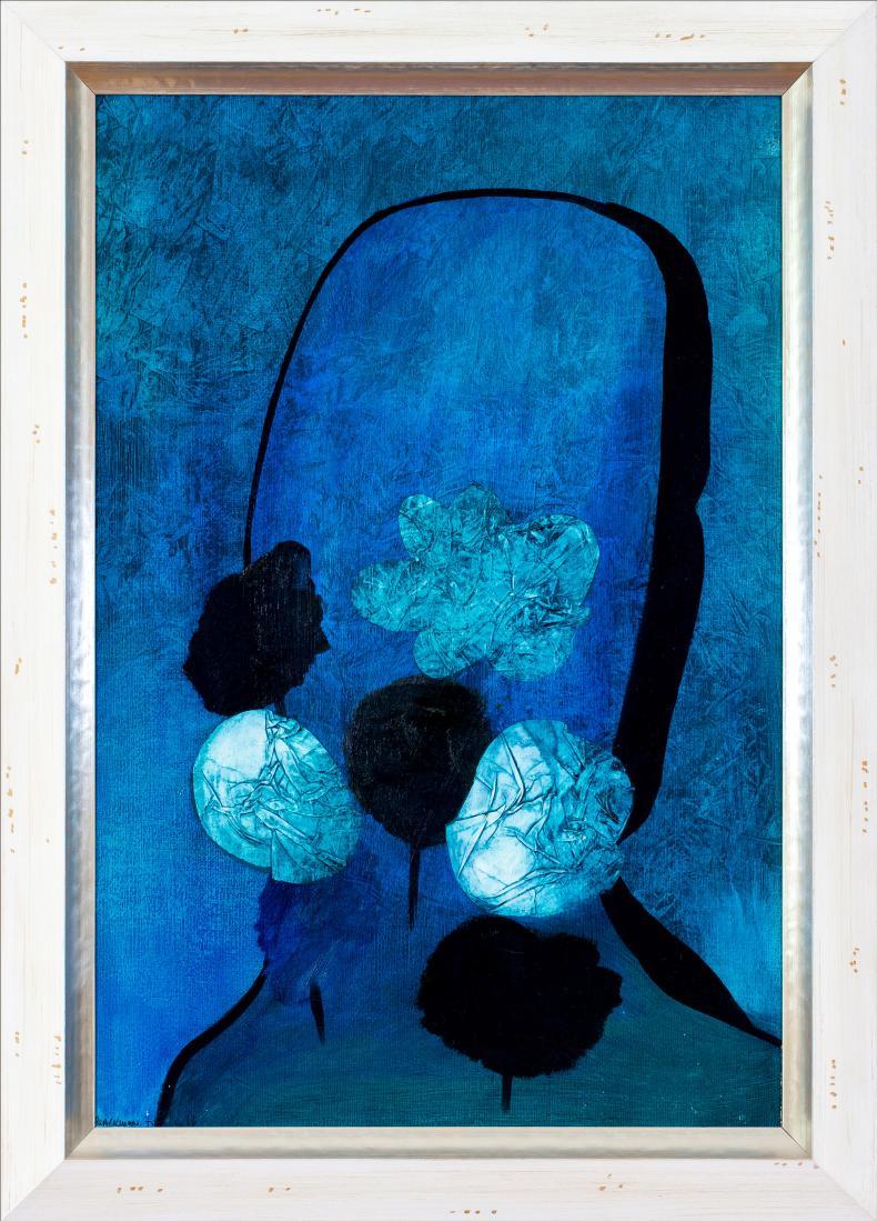 Charles BLACKMAN O.B.E. (b.1928; D.2018) - FLOWERS FOR BARBARA