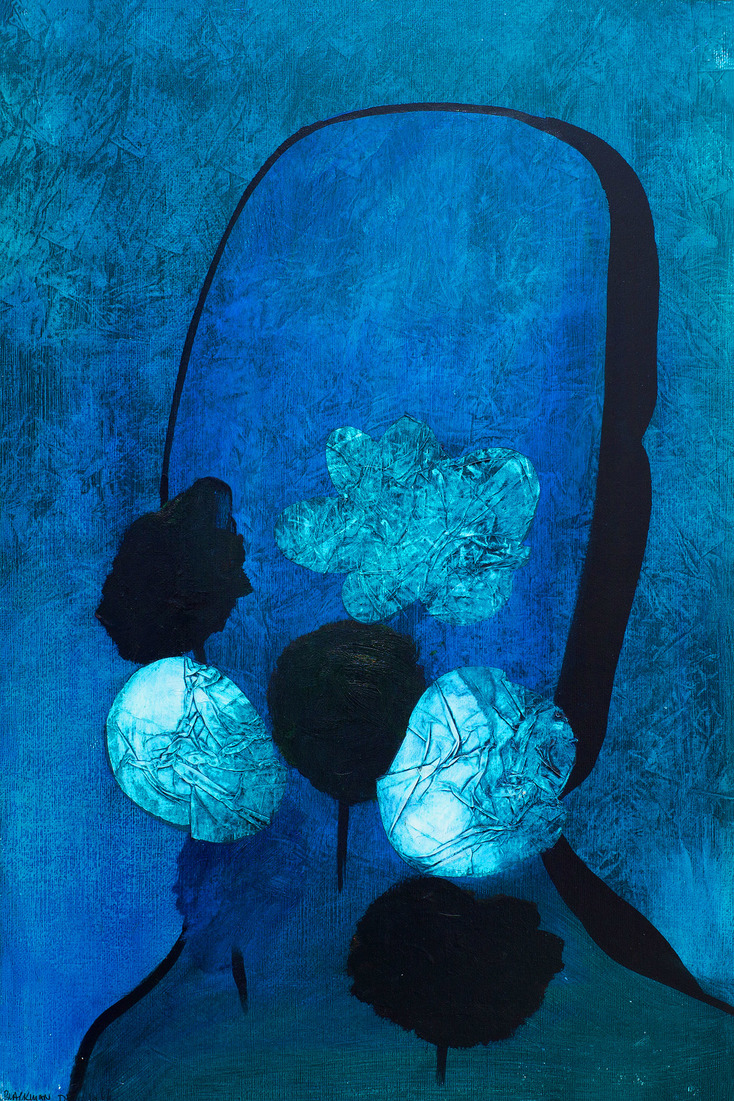 Charles BLACKMAN O.B.E. (b.1928) - FLOWERS FOR BARBARA