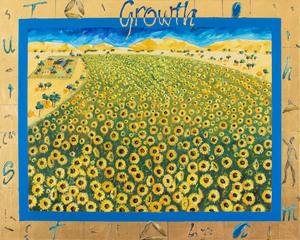 Anita WEST (b.1965) - GROWTH