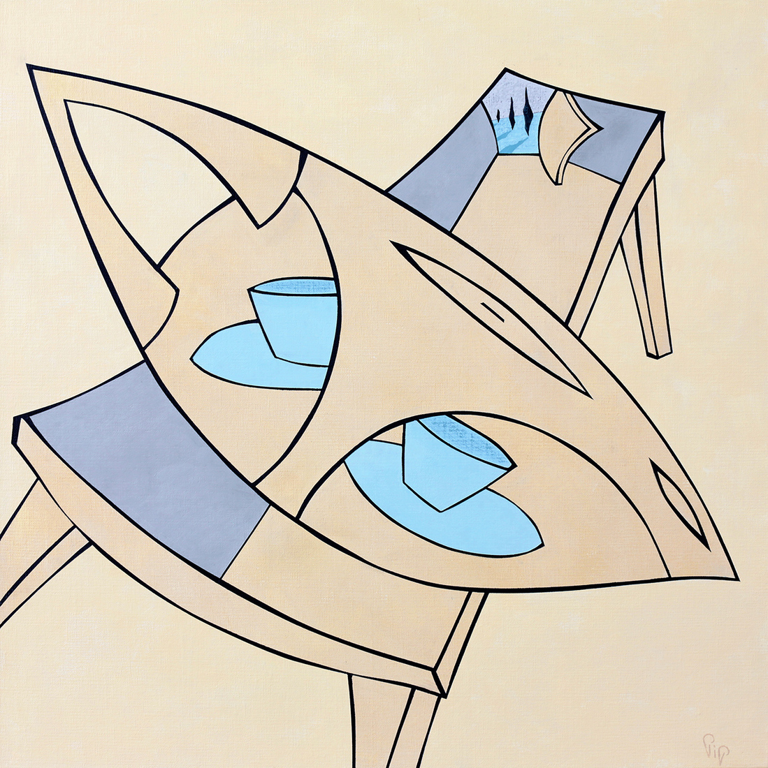 Philippa (Pip) CROLL (b.1958) - INDIVIDUALITEA