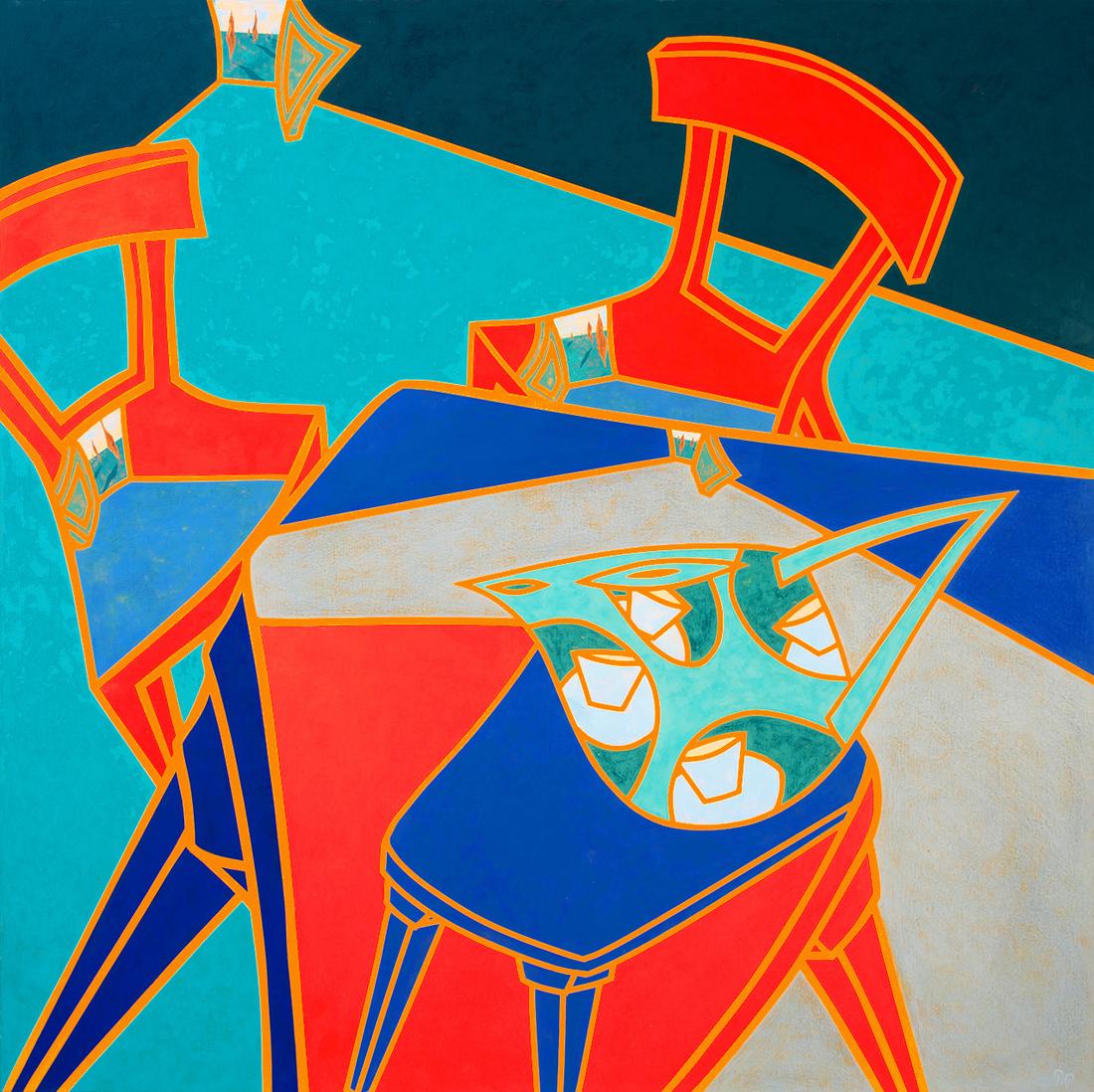 Philippa (Pip) CROLL (b.1958) - INTERTABULARITEA
