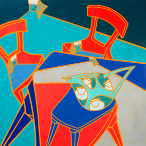 Philippa (Pip) CROLL (b.1958) - INTERTABULARITEA