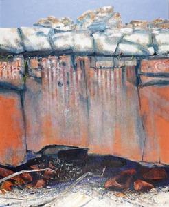 Thomas GLEGHORN (b.1925) - LANDSCAPE ALTAR - MACDONNELL RANGES