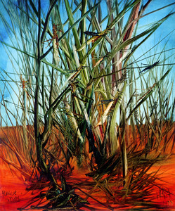 Kevin Charles (Pro) HART (b.1928; d.2006) - LOCUSTS & REEDS