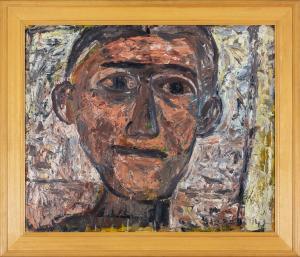 John Anthony (Tony) TUCKSON (b.1921; d.1973) - MAN WITH STRAIGHT MOUTH (TP 622)