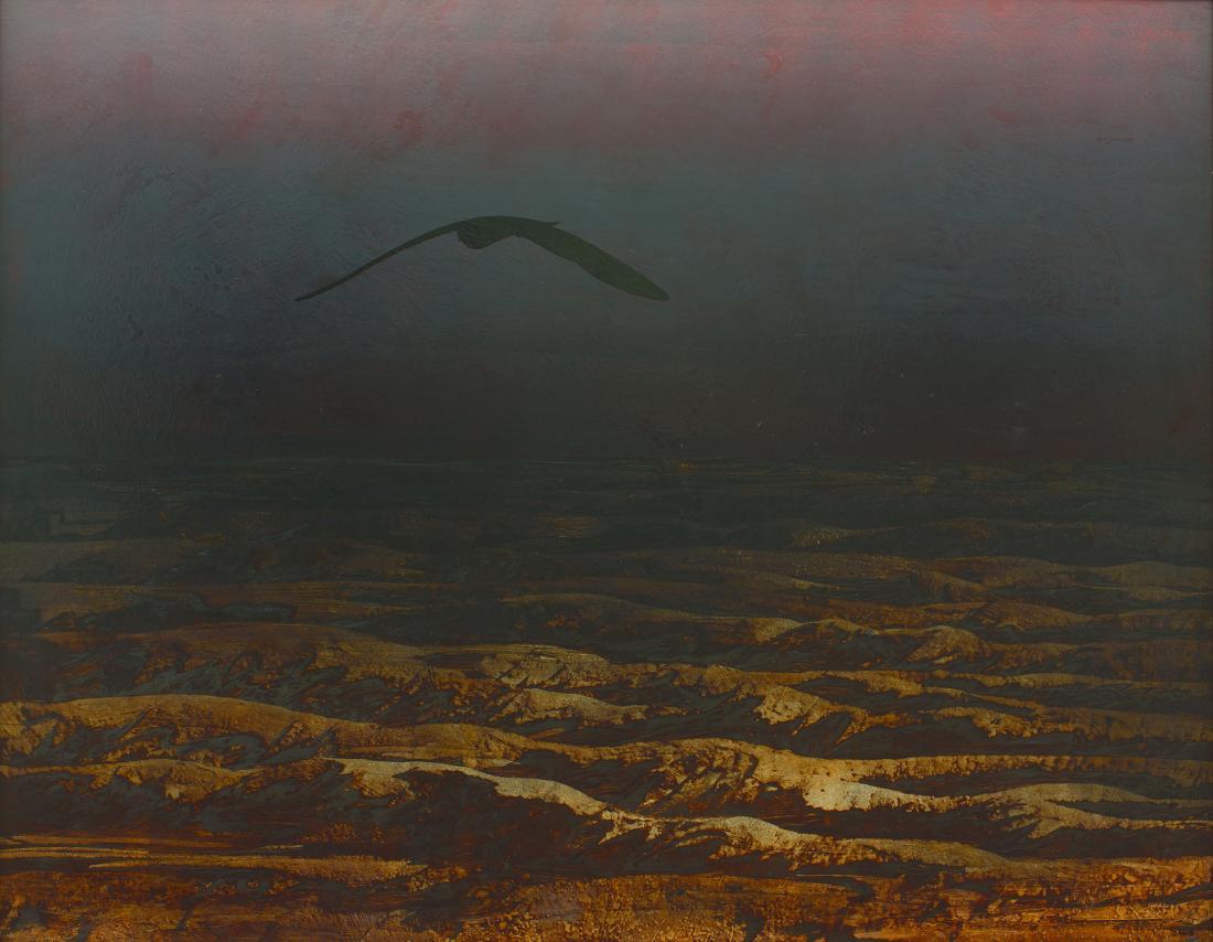 Lawrence M. DAWS (b.1927) - OMEN BIRD
