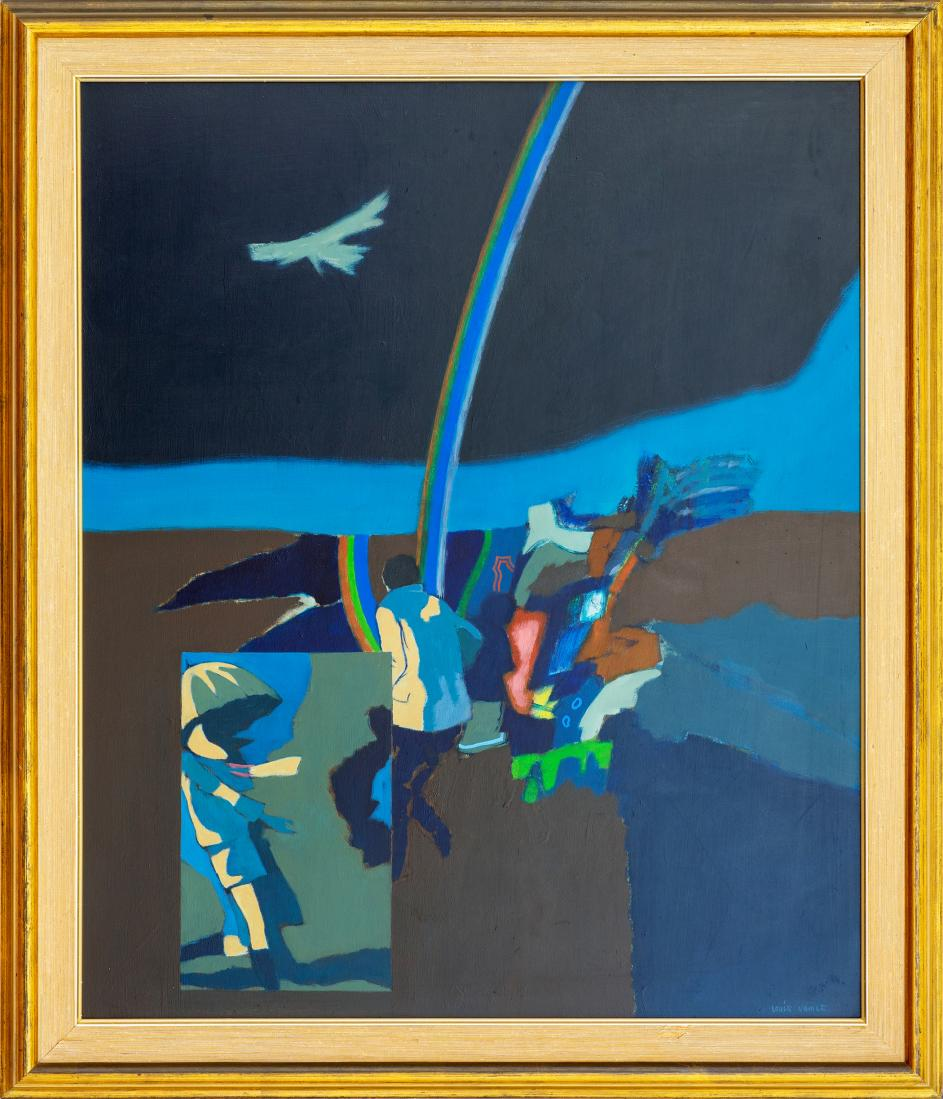 Louis Robert JAMES (b.1920; d.1996) - RAINBOW LANDSCAPE