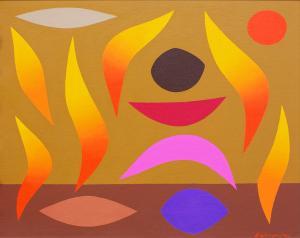 John COBURN (b.1925; d.2006) - RITUAL FIRE DANCE