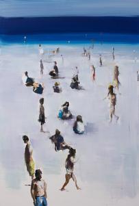Qiang ZHANG (b.1962) - SAND, SEA & SKY