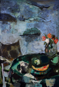 Judy CASSAB (b.1920; d.2015) - STILL LIFE & BRIDGE