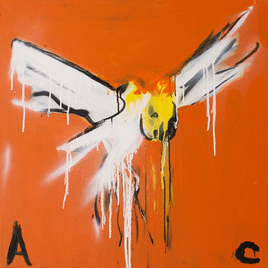Adam CULLEN (b.1965; d.2012) - SULPHUR CREST COCKATOO