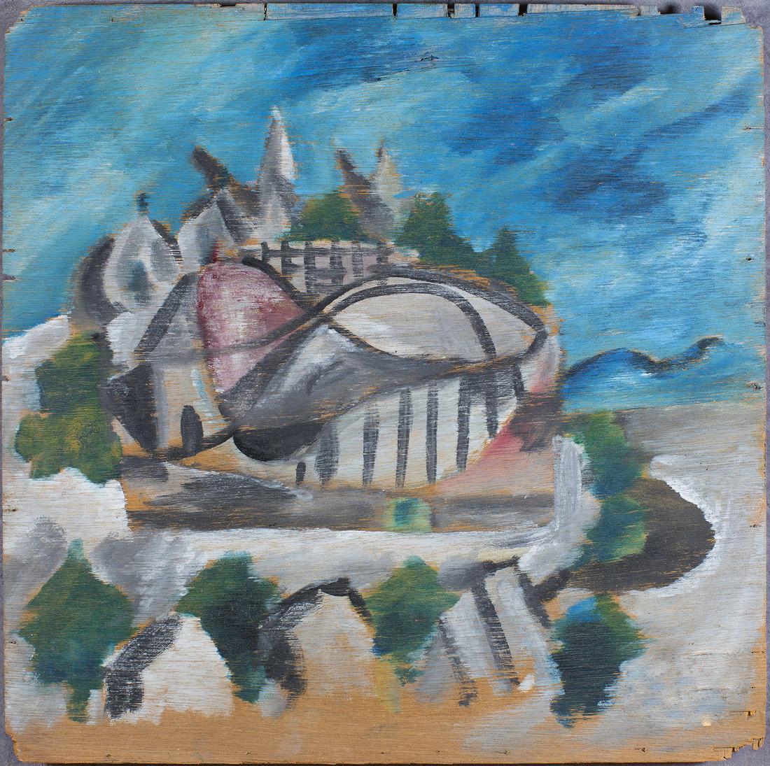 Sir Sidney Robert NOLAN (b.1917; d.1992) - THE BIG DIPPER - LUNA PARK - St Kilda