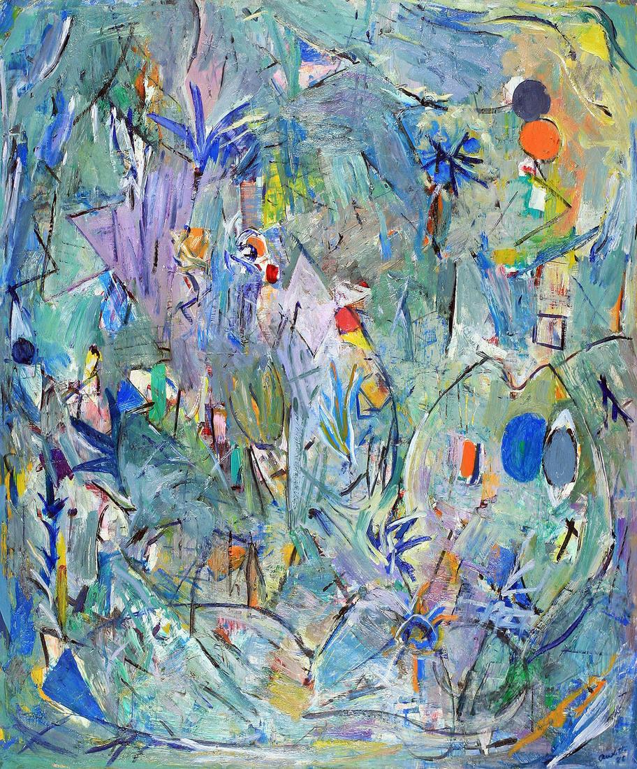 Yvonne AUDETTE (b.1930) - THE PLANT SPIRIT