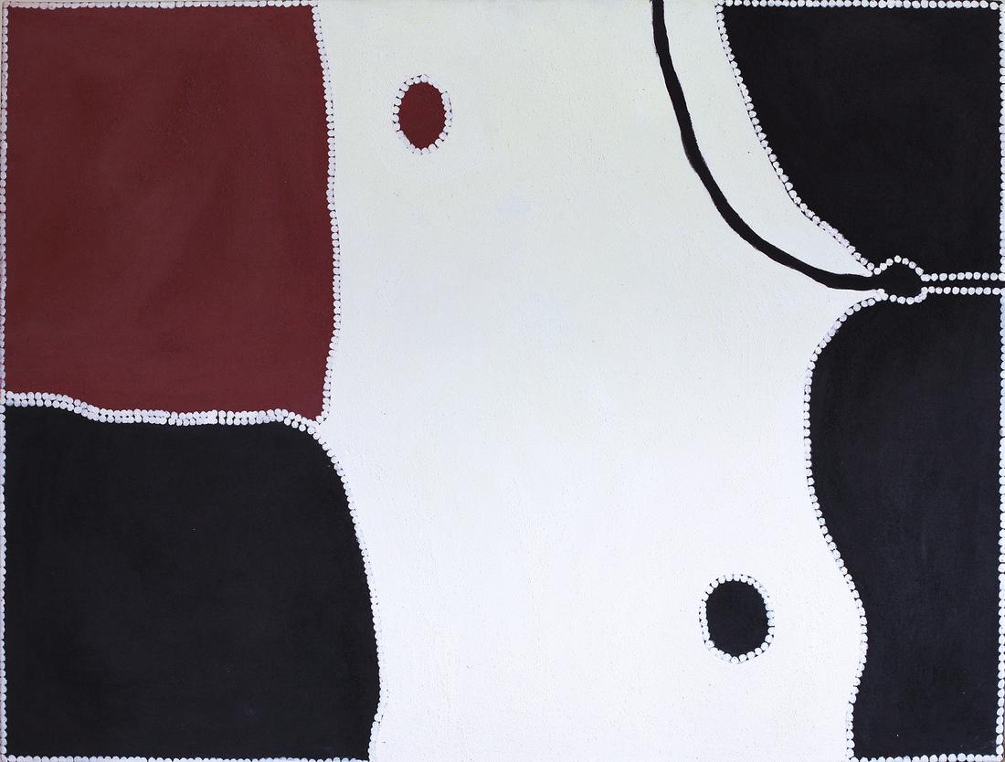 Freddie TIMMS (Ngarrmaliny) (b.1946; d.2017) - THIRSTY CREEK (Bow River)