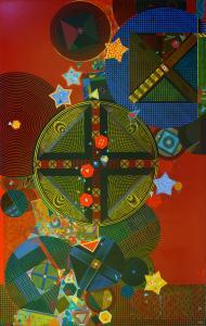 David Keith MILNE (b.1946) - UNBROKEN YEARNING FLAMES DESIRE....
