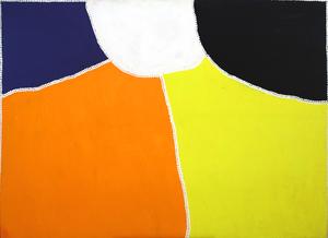 Freddie TIMMS (Ngarrmaliny) (b.1946; d.2017) - UNTITLED (Crocodile Hole)