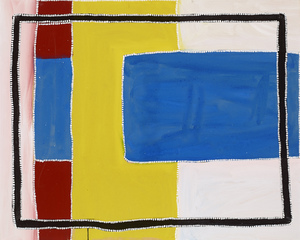 Rammey RAMSEY (b. c.1935) - UNTITLED (My Country 127)