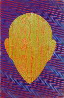 Howard ARKLEY (b.1951; d.1999) - UNTITLED (WOODGRAIN ZAPPO HEAD)